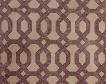 FABRIC - 3 Yards - Jaclyn Smith 2103 Chenille Hydragea Fabric