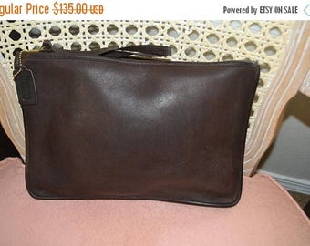 On Sale Vintage~ COACH ~Coach Briefcase~Made in USA~Business Bag~Tablet Bag~Attaches