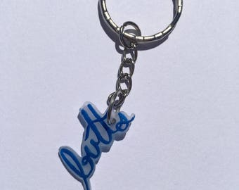 Butts / Shrink Film Keychain / Polymer Plastic Keychain