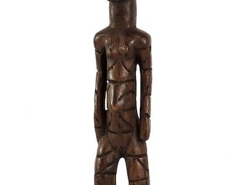 Mangbetu Female Carving Congo Miniature African Art 113234