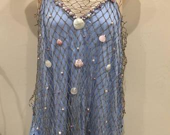 The Merdest - A Custom Made Modest Mermaid Costume Swimsuit Coverup Top