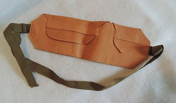 Vintage Soft Leather Money Belt