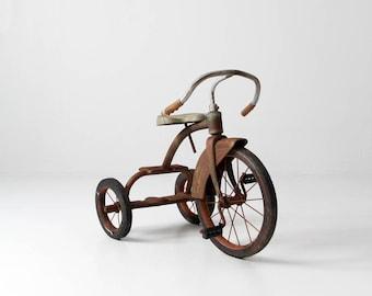 vintage tricycle, old toy trike