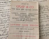 Corsets Veils Gloves They Had It All Gray & Co Sales Reciepts Prove It