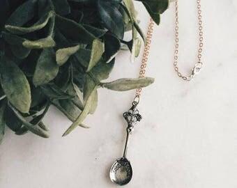 Necklace || Silver Spoon