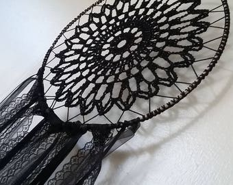 Dreamcatcher Room Decor Black Wedding Gift Decorating Bedroom Nursery Boho Gypsy Hanging Wall Dream Catcher