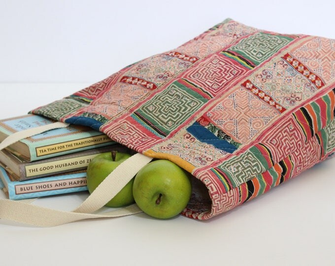 Eco Friendly Quilted Market Tote Bag