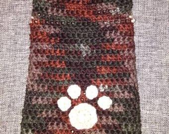 Crochet dog sweater XS/S
