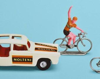 Eddy Merckx, Tour de France Cycling Art Print, Molteni Team