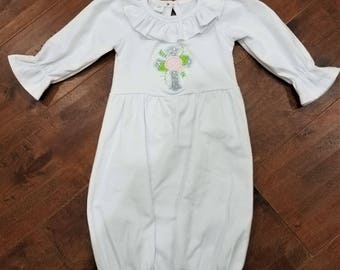 baby girls baptism or christening gown