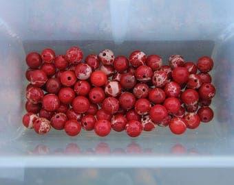 4mm Magnesite Gemstone Beads