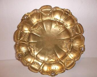 Antique Ornate Gold Regency Bowl