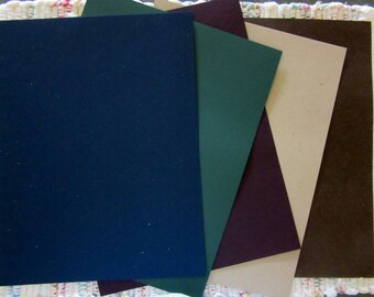 Colored Card Stock  25 Sheets
