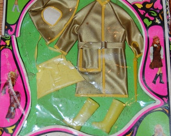 "1968 Maddie Mod Barbie Tressie Miss Teenage Dolls Outfit Shower Power #1755 in Original Box Complete 11 1/2 "" Fashion Dolls"