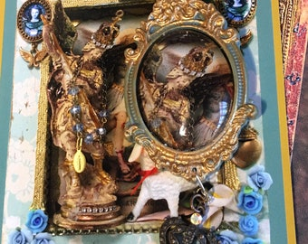 Archangel Michael rosary and shrine