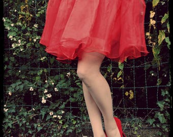Red petticoat - Size only (36-42)