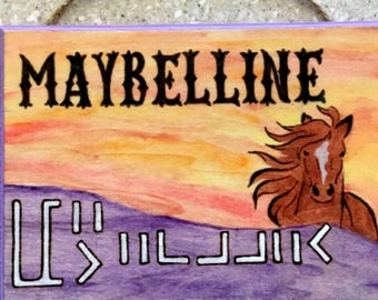 Personalized Pet/Horse/Livestock Name Plaques