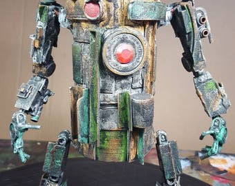 Assemblage wasteland droid