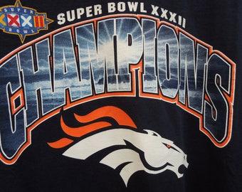 Denver Broncos Super Bowl XXXII t-shirt, XL