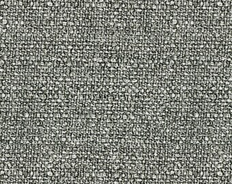 Heavy Linen Look - Multi-purpose Upholstery Fabric. Soft Texture. Decorative Look of Linen- Duty Free to Canada - Color: Gravel-  per yard