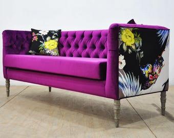 "Loveseat - purple dream ""3 seater sofa"""