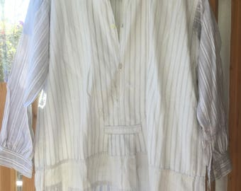 """re.constructed antique French shirt """" 5 in 1 """""""