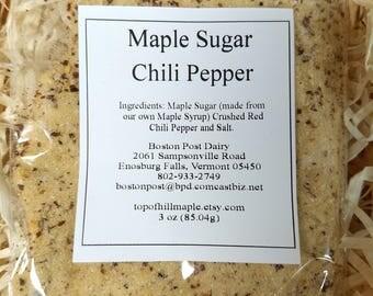 Maple Sugar & Chili Pepper Spice Rub/ Seasoning