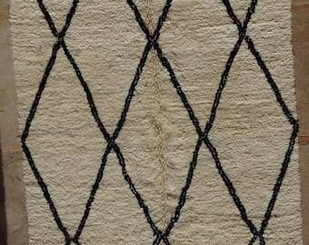 Beni Ourain BO33107/MA   Beniourain, Beniouarain, beni ouarain   berber rug  morocco