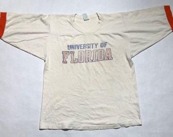 University of Florida V-Neck Ringer T-Shirt