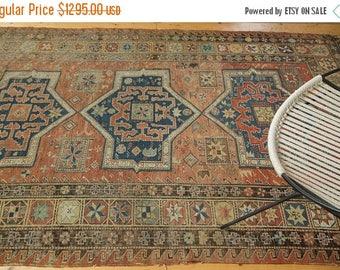 10% OFF RUGS DISCOUNTED 5x8.5 Antique Soumac Carpet