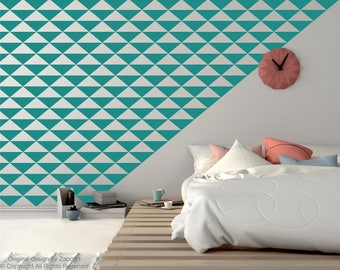 Triangle Decal Wall Pattern Pieces