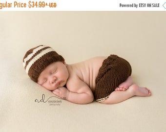 Cream,Beanie, newborn, baby boy newborn set, photography prop, newborn photo outfit, photo prop, knit, newborn, photography outfit