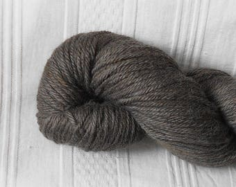 Slate DK-weight alpaca yarn