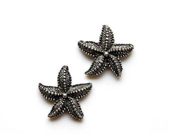 Limited Time Offer Starfish Cufflinks - Gifts for Men - Anniversary Gift - Handmade - Gift Box Included