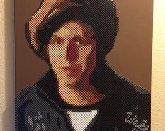 Wally Brando | Michael Cera Perler Bead Portrait | Twin Peaks Fan Art #10