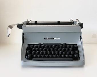 Vintage 1966 Underwood Touchmaster Five Manual Typewriter