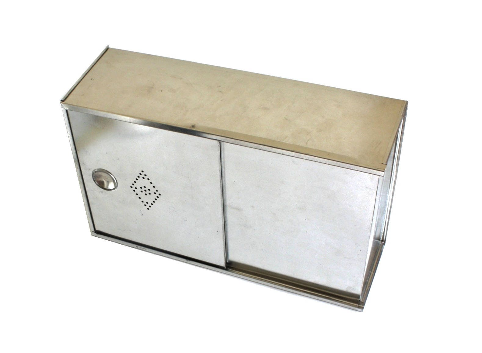 Tin bread box drawer insert - Details Tin Bread Box Drawer Insert