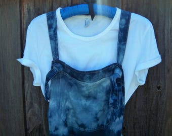 The Navy Blue Overalls