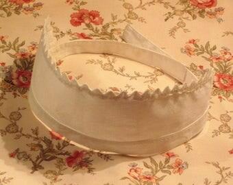 Antique Maid Cap Headband