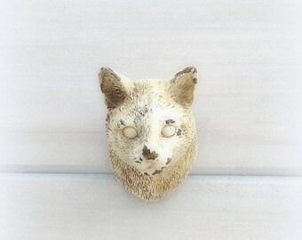 SALE Cat Drawer Pull Knob Cabinet Knob Dresser Knob Rustic