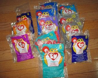 set of 12 Ty Teenie Beanies McDonalds promo