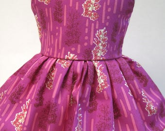 Amethyst Daydreams, Sleeveless Dress for your 18 Inch Doll D