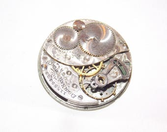 Antique 29mm  Pocket Watch Movement