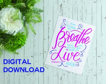 Breathe New Life - Digital Download
