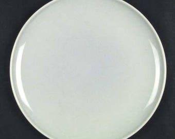 Universal Pottery Dove Gray Ballerina Round Plate 10 inch