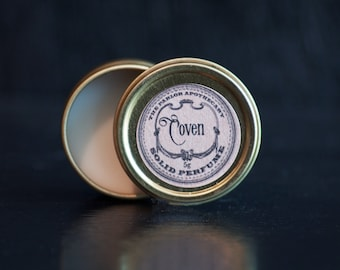 Solid Perfume Oil Tin - Choose your Scent -5g (.15 oz)