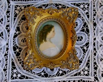 Empress  Eugenie / Winterhalter Portrait