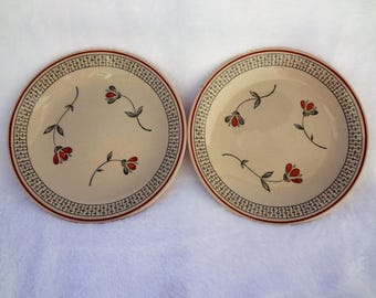 Vintage Johnson Brothers Zephyr Plates