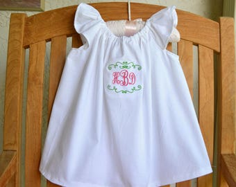 Infant baptism Christening dress personalized FREE monogram special occasion