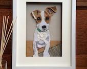 Dog Portrait Custom, Cust...